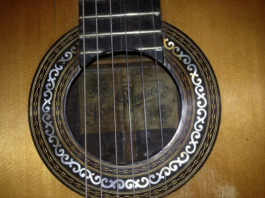 Jose Ramirez 1908 - Guitar 2 - Photo 4