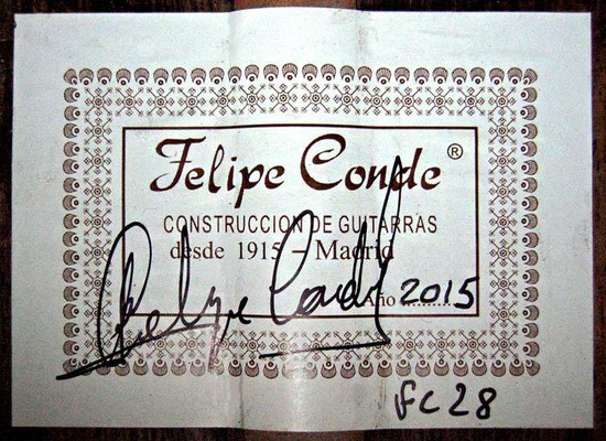 Felipe Conde 2015 - Guitar 6 - Photo 10