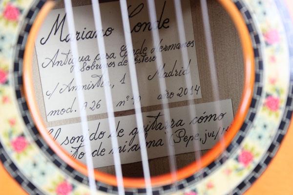 Felipe Conde 2014 - Guitar 7 - Photo 5