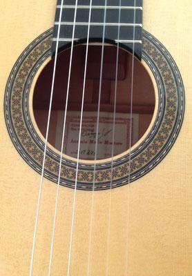 Antonio Marin Montero 2018 - Guitar 1 - Photo 6