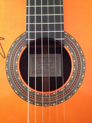 Felipe Conde 2011 - Guitar 6 - Photo 1
