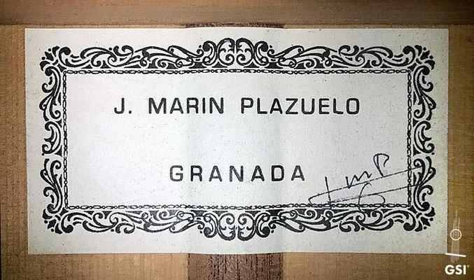 Jose Marin Plazuelo 1993 - Guitar 1 - Photo 3