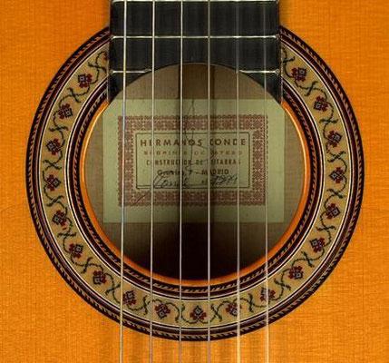 Hermanos Conde - Sobrinos de Esteso - 1999 - Guitar 4 - Photo 5
