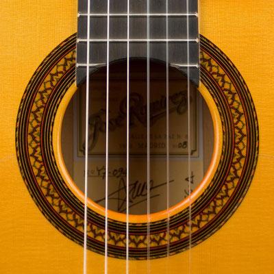 Jose Ramirez 2008 - Guitar 4 - Photo 7