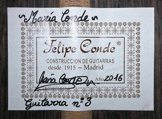 Maria Conde 2016 - Guitar 5 - Photo 3