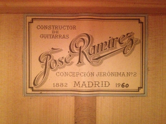 Jose Ramirez 1960 - Guitar 2 - Photo 2