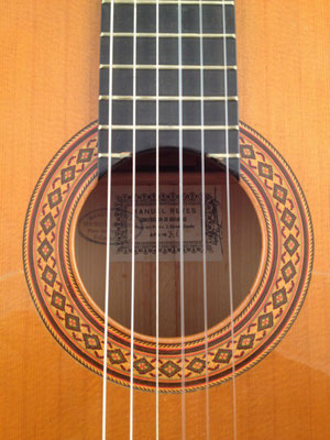 Manuel Reyes 1971 - Guitar 2 - Photo 1