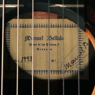 Manuel Bellido 1993 - Guitar 1 - Photo 9