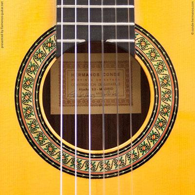 HERMANOS CONDE - SOBRINOS DE ESTESO 2012 #4 - ROSETTE - BOCA