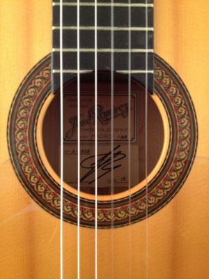 Jose Ramirez 1988 - Guitar 2 - Photo 12