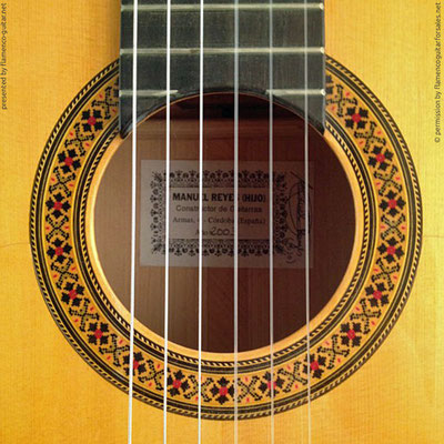 MANUEL REYES HIJO | GUITAR  GITARRE | 2003  | ROSETTES ROSETTEN