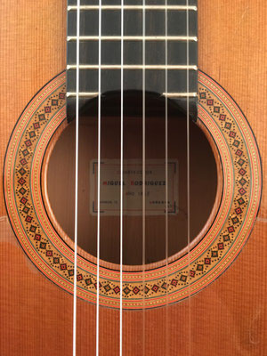 Miguel Rodriguez 1968 - Guitar 2 - Photo 36