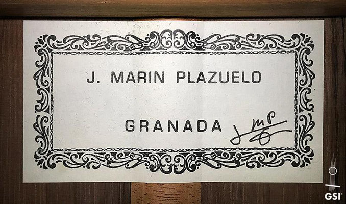 Jose Marin Plazuelo 2004 - Guitar 2 - Photo 11