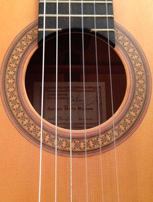 Antonio Marin Montero 1976 - Guitar 1 - Photo 1