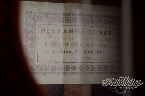 Hermanos Conde 1981 - Guitar 3 - Photo 3
