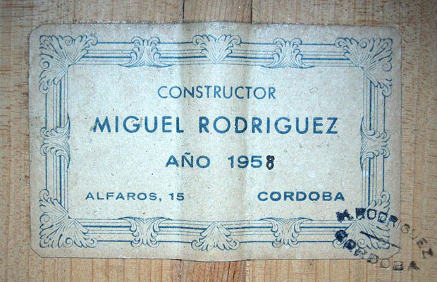 Miguel Rodriguez 1958 - Pepe Romero - Guitar 1 - Photo 9
