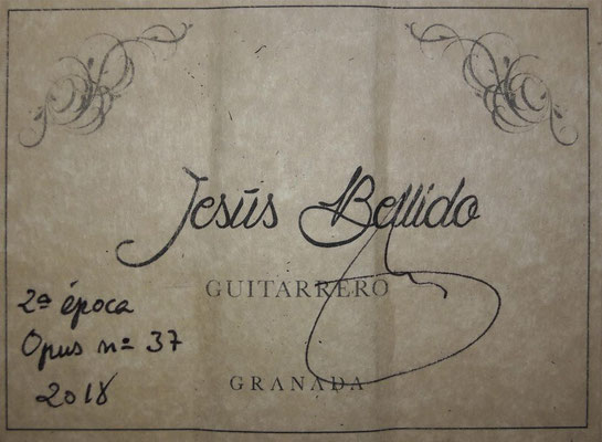 Jesus Bellido 2018 - Guitar 1 - Photo 24
