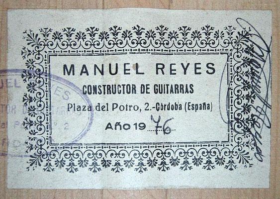 Manuel Reyes 1976 - Guitar 1 - Photo 6