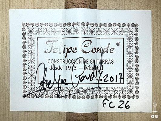 Felipe Conde 2017 - Guitar 8 - Photo 11