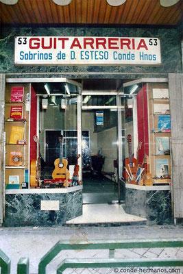 HERMANOS CONDE - SOBRINOS DE DOMINGO ESTESO - SHOP - ATOCHA NO. 53