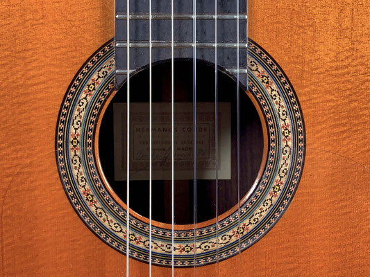 Hermanos Conde 1980 - Paco de Lucia - Rosette - Guitar 1 - Photo 6