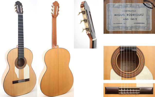 Miguel Rodriguez 1959 - Guitar 2 - Photo 12