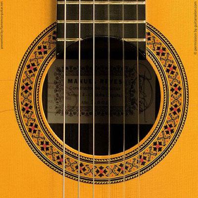 MANUEL REYES | GUITAR  GITARRE | 2000  | ROSETTES ROSETTEN