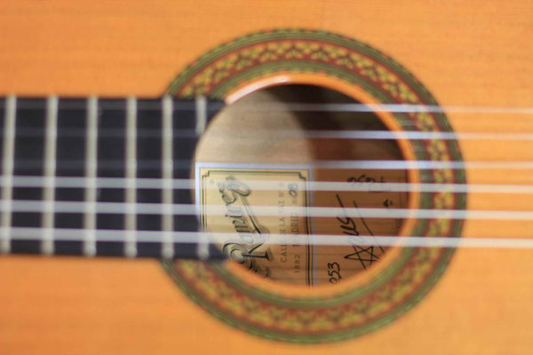 Jose Ramirez 2008 - Guitar 3 - Photo 10