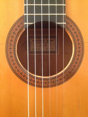 Francisco Barba 1973 - Guitar 3 - Photo 1