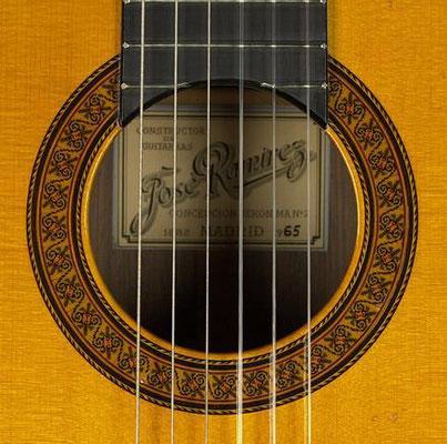 Jose Ramirez 1965 - Guitar 1 - Photo 3