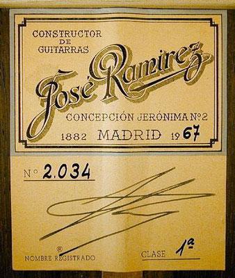 Jose Ramirez 1967 - Guitar 2 - Photo 4