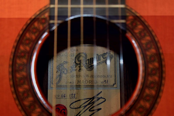 Jose Ramirez 1991 - Guitar 1 - Photo 5