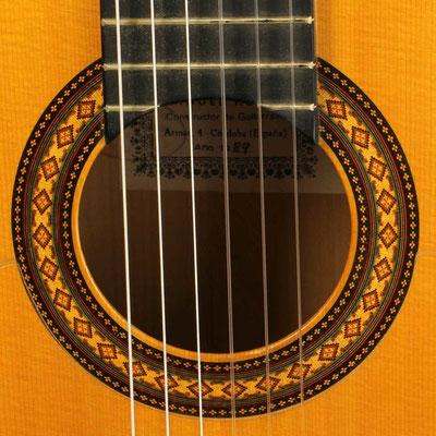 Manuel Reyes 1989 - Guitar 7 - Photo 3