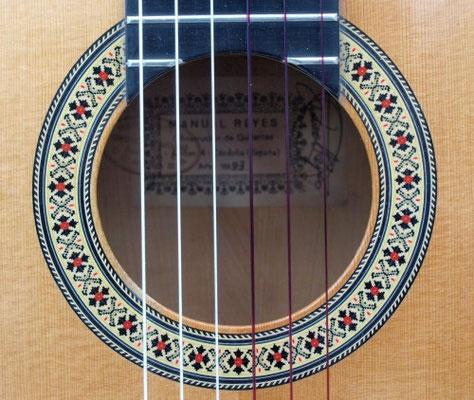 Manuel Reyes 1993 - Guitar 3 - Photo 10