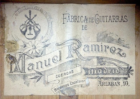 Manuel Ramirez 1912 - Guitar 1 - Photo 3