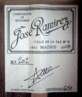Jose Ramirez 2008 - Guitar 1 - Photo 9
