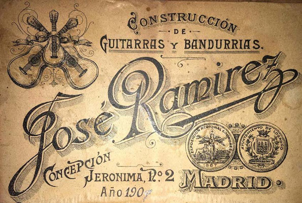 Jose Ramirez 1907 - Guitar 2 - Photo 4