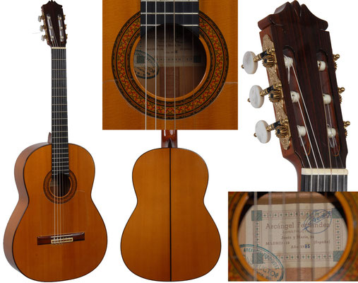 Arcangel Fernandez 1985 - Guitar 1 - Photo 1