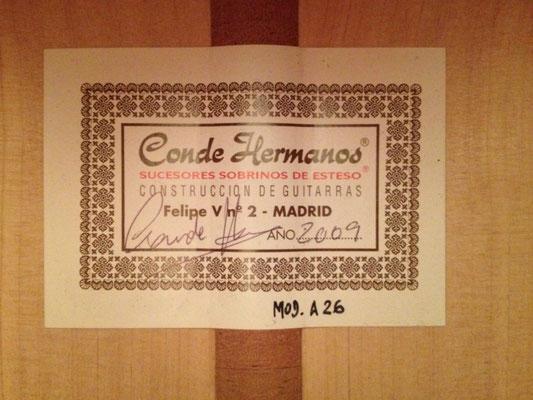 Hermanos Conde 2009 - Guitar 4 - Photo 2