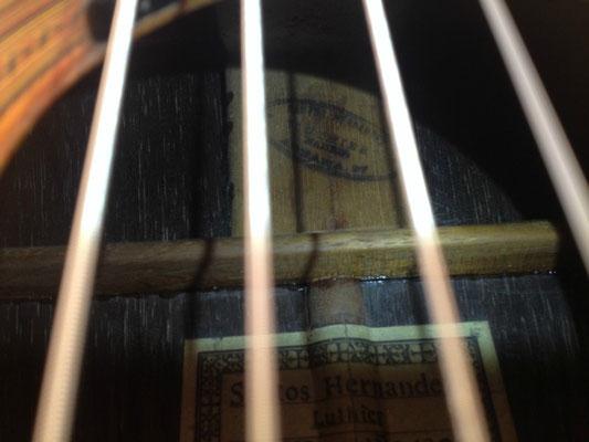 Santos Hernandez 1923 - Guitar 1 - Photo 21