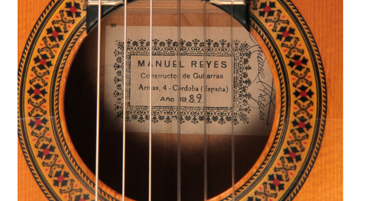 Manuel Reyes 1989 - Guitar 3 - Photo 7