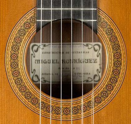 Miguel Rodriguez 1995 - Guitar 2 - Photo 4