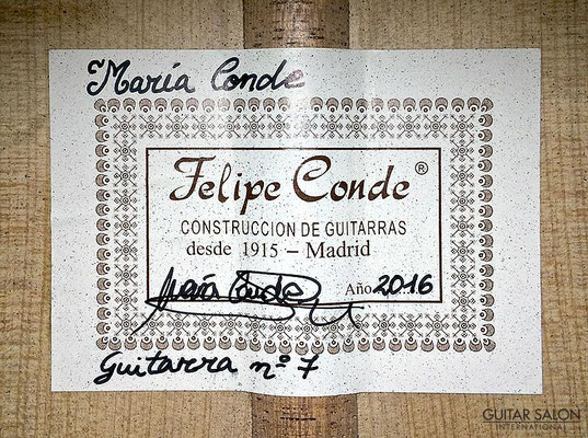 Maria Conde 2016 - Guitar 4 - Photo 1