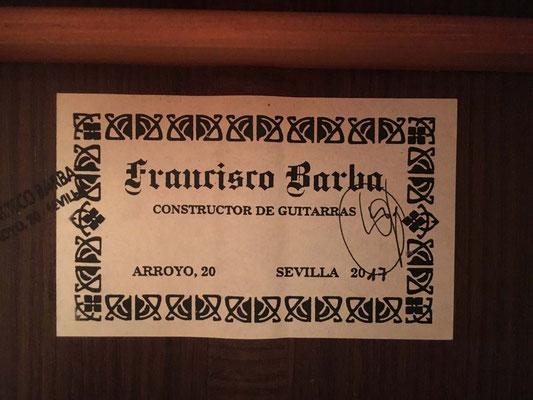 Francisco Barba 2018 - Guitar 2 - Photo 5