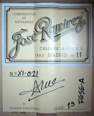 Jose Ramirez 2011 - Guitar 2 - Photo 6