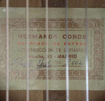 Hermanos Conde 2002 - Guitar 1 - Photo 4