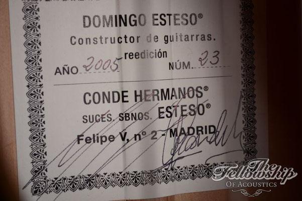 Hermanos Conde 2005 - Guitar 7 - Photo 8