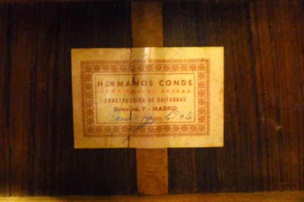Hermanos Conde 1975 - Guitar 2 - Photo 11