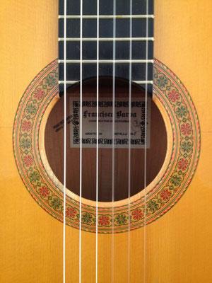 Francisco Barba 1995 - Guitar 2 - Photo 1