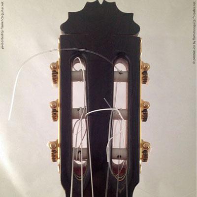 MANUEL REYES HIJO | GUITAR  GITARRE | 2000  | HEADSTOCKS | GITARREN-KOPF